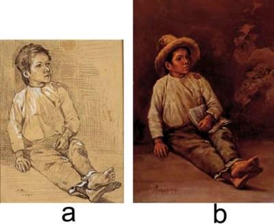 Julio Ruelas (Mexican 1870-190