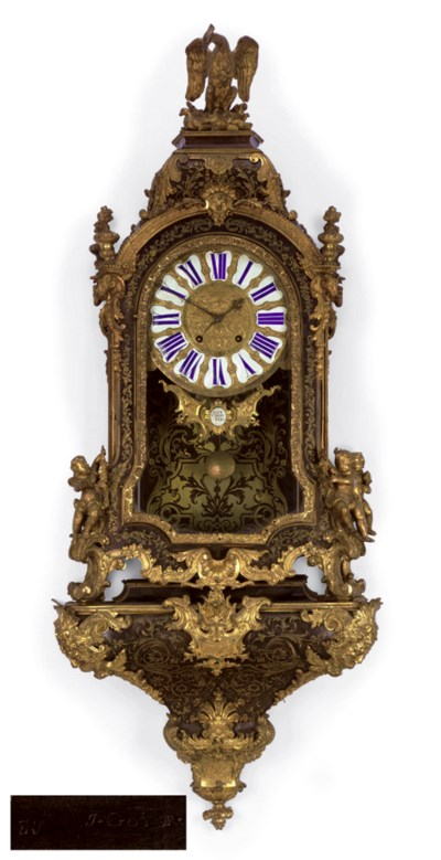 A REGENCE ORMOLU-MOUNTED AND B
