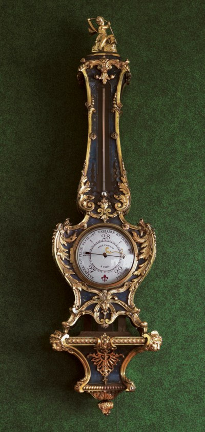 A FRENCH ORMOLU-MOUNTED BLUE-S