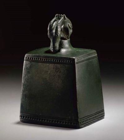 A CAUCASIAN BRONZE BELL