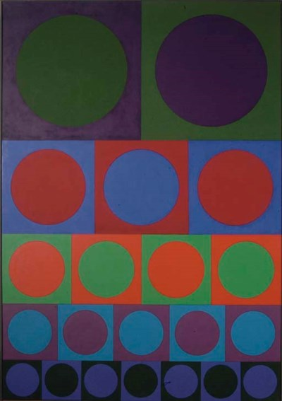 Victor Vasarely (FRENCH HUNGAR
