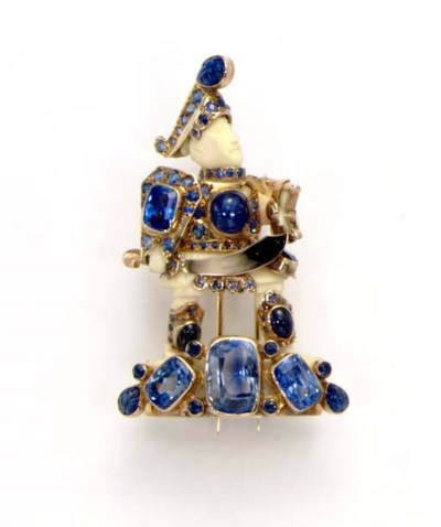 **AN IVORY AND SAPPHIRE WARRIO