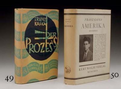KAFKA, Franz (1883-1924). Der
