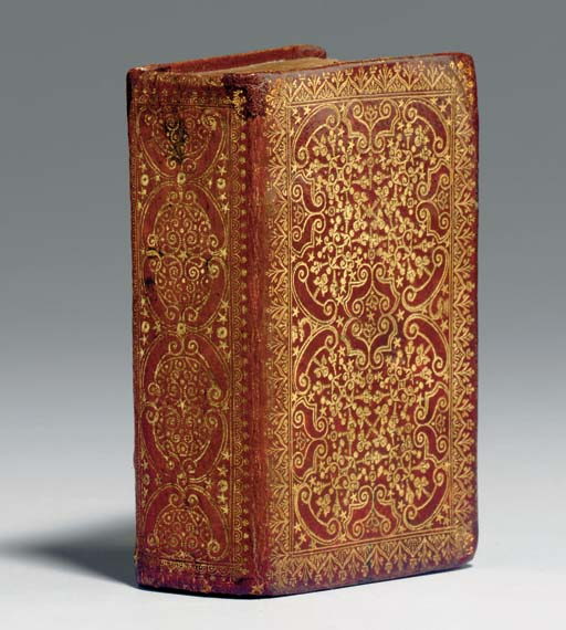 [AMSTERDAM BINDING]. Bible, New Testament, in Greek. [Geneva:] Henri Estienne, 1576.