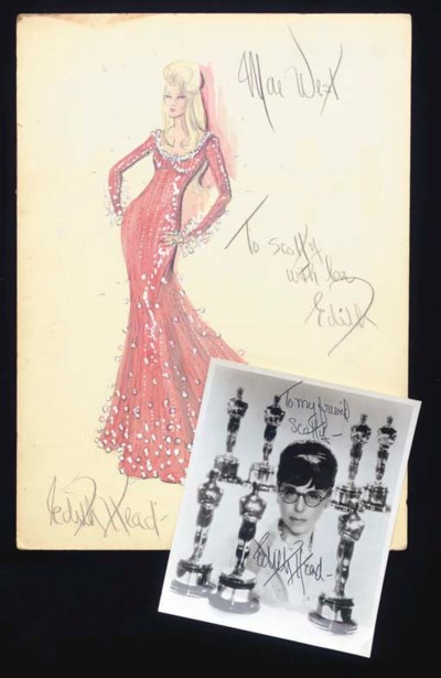 Edith Head/Mae West