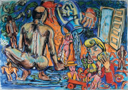 Artist Mind Studio Diptych VI