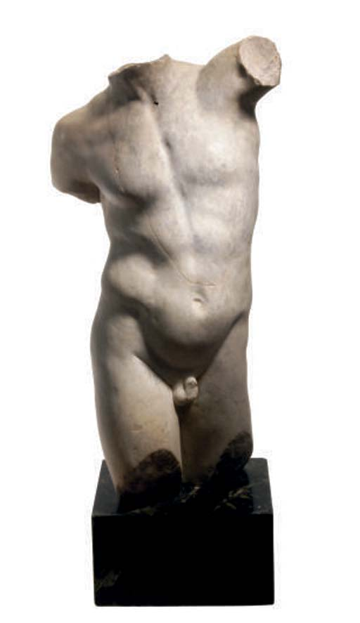 A CLASSICAL STYLE MARBLE MALE