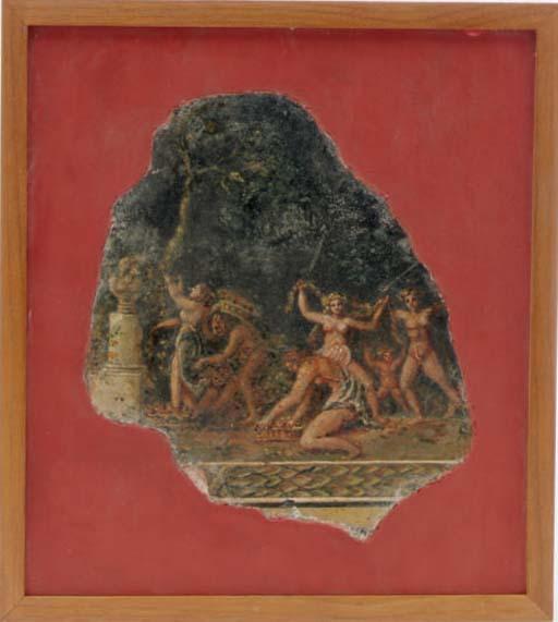 A ROMAN STYLE FRAGMENT OF A FR