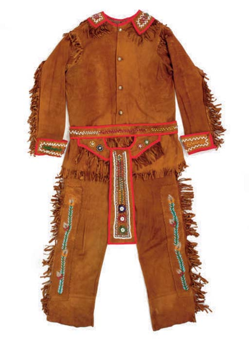 AN IROQUOIS MAN'S OUTFIT,