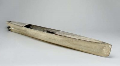 A late 19th century model of a