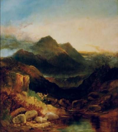 JOSEPH HORLOR (BRITISH, 1809-1