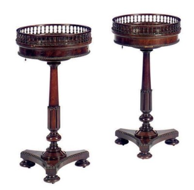 A PAIR OF EARLY VICTORIAN CARV