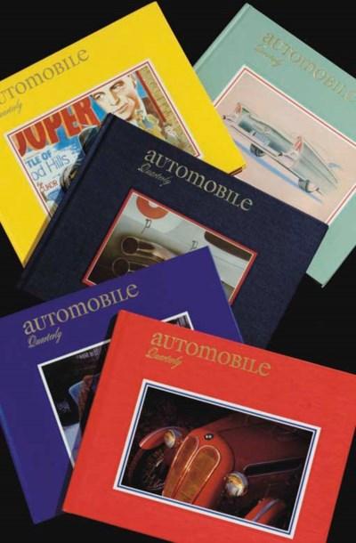 A complete run of Automobile Q