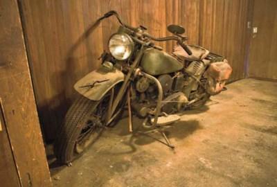 1941 INDIAN MODEL 741 SCOUT JU