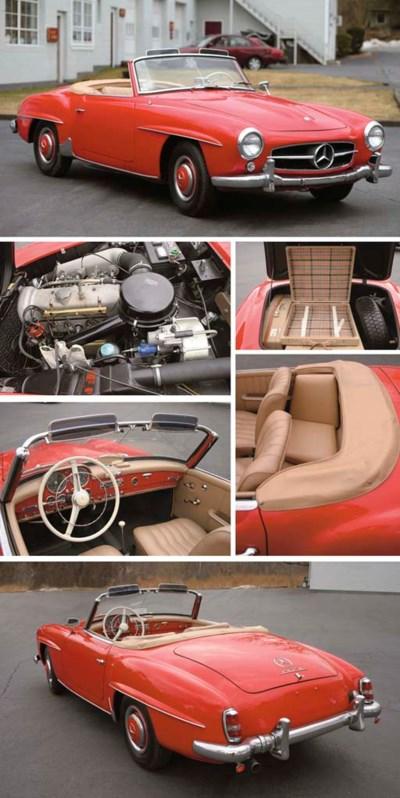 1959 MERCEDES-BENZ 190SL ROADS