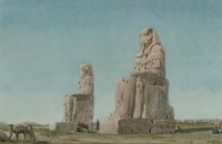 The Colossi of Memnon, Thebes
