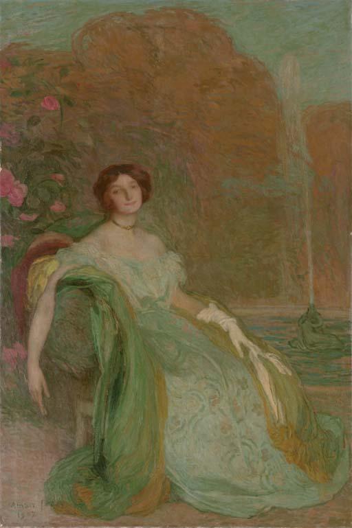 Portrait de Mademoiselle V.G.