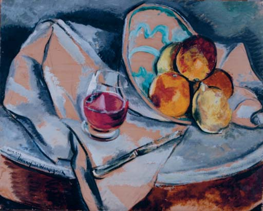 Nature morte, oranges et citrons