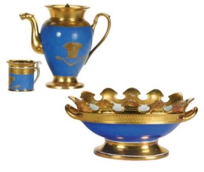 A FRENCH PORCELAIN TEA SERVICE
