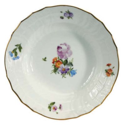 AN ASSMEBLED DANISH PORCELAIN
