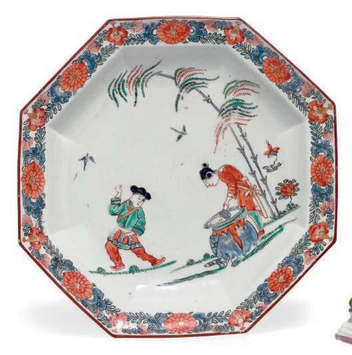 A JAPANESE ARITA WARE OCTAGONA