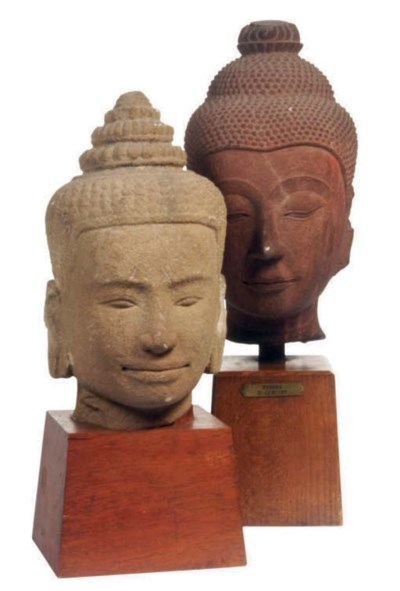 A KHMER STYLE AND A AYUTHIA ST