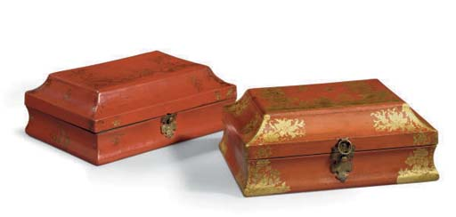 A MATCHED PAIR OF LOUIS XV SCA