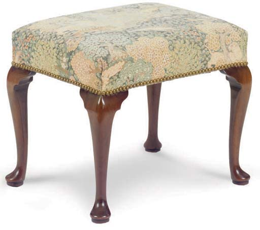 A PAIR OF ENGLISH UPHOLSTERED