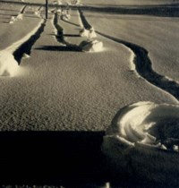 Untitled (Snow Abstraction), c. 1930