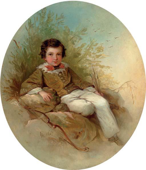 Portrait of a Young Archer