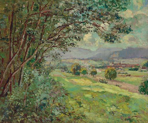 Emmanuel Victor Auguste Marie de la Villeon (1858-1944)