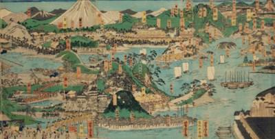 Utagawa Yoshitora (act. 1850-8