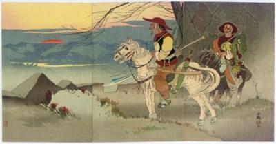 Taguchi Beisaku (1864-1903) Og