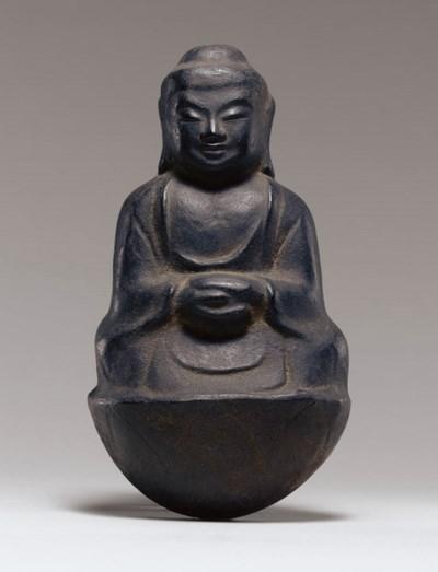 A Bronze Figure of the Buddha