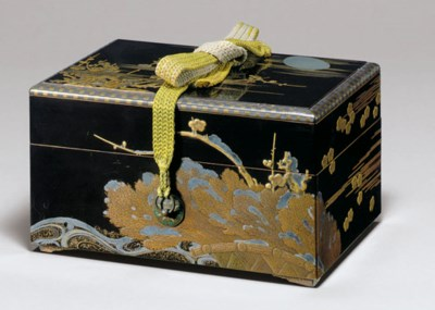A Lacquer Stacking Box