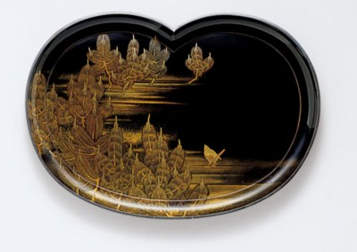 A Lacquer Tray for Incense (Ko