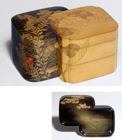 A Lacquer Stacking Box (Jubako