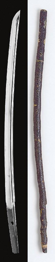 A Cane Sword and a Tanto