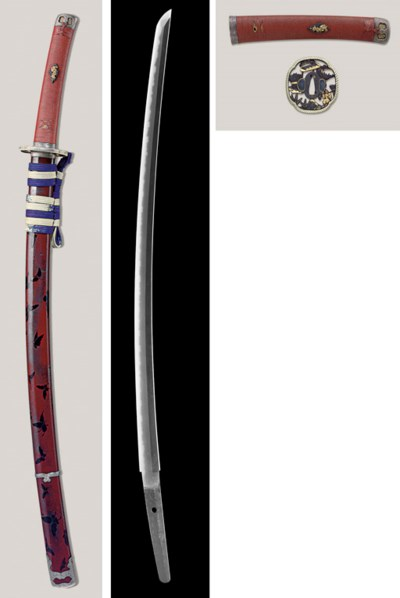 An Edo-Ishido Katana in Mounts