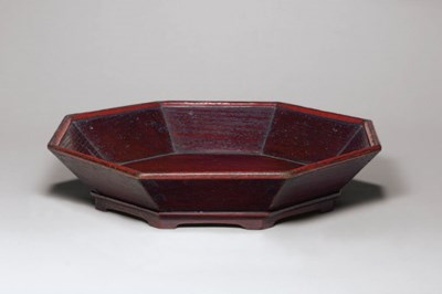 A Large Partially Lacquered Wo