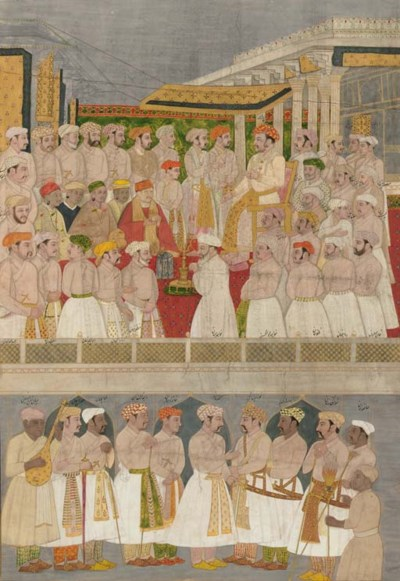 A Darbar with Jahangir in Luck