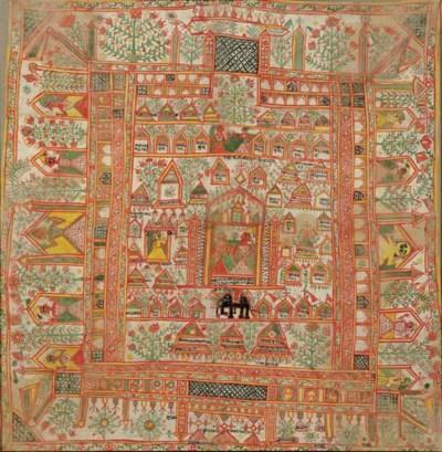 A Hindu painting