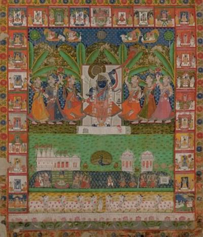 A picchvai of Shri Nathji and