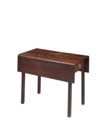 AN AMERICAN CHIPPENDALE MAHOGA