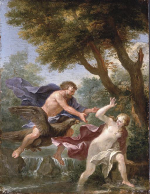 Jupiter and a river nymph