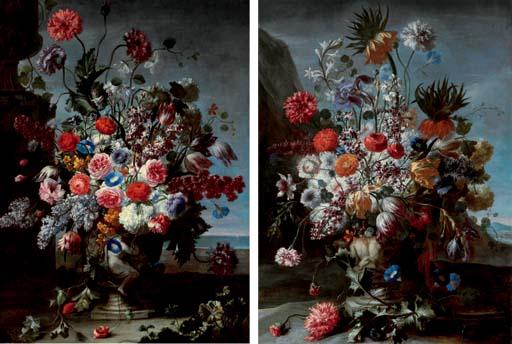Karel van Vogelaer Maastricht 1653-1695 Rome