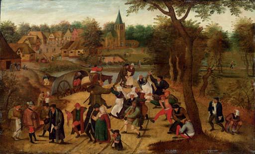 Studio of Pieter Breughel II Brussels c. 1564-1637 Antwerp