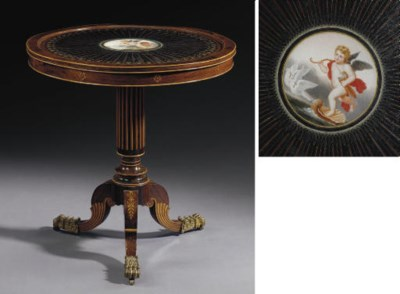 A CHARLES X ORMOLU-MOUNTED, IN