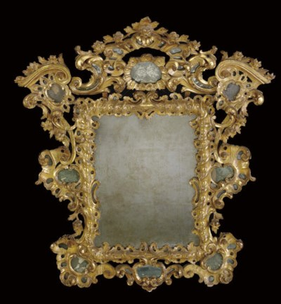 A SOUTH EUROPEAN GILTWOOD AND