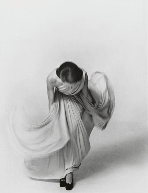 Bowing Lady, for the Vogue Collections, Paris, 1972